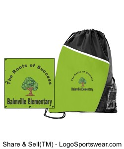 Balmville String Backpack Design Zoom