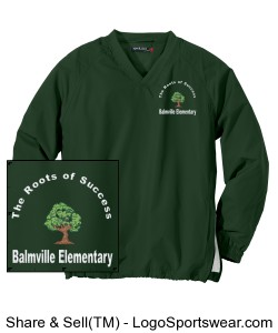 Balmville Wind Shirt Adult Design Zoom